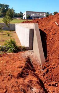 MABC | Muro de arrimo | Condomínio Dahma Ecotec